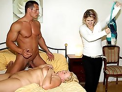 He resolves to fuck the naughty mature slut hard until her body screams with orgasm