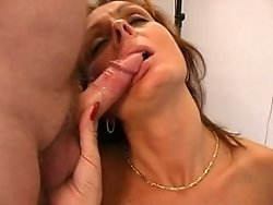 a wet pussy and willing mouth