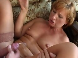 she want that warm cum all over her