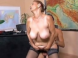 Cock-hungry old sluts go nuts